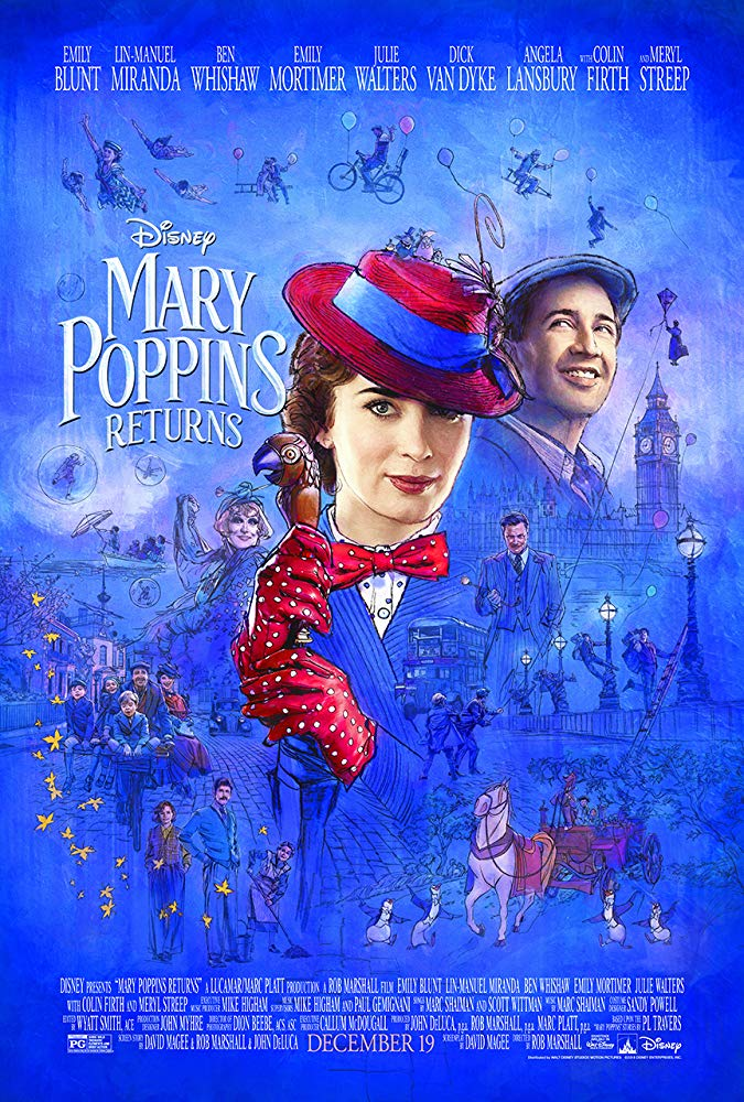 Mary Poppins Returns @ Palace Theatre